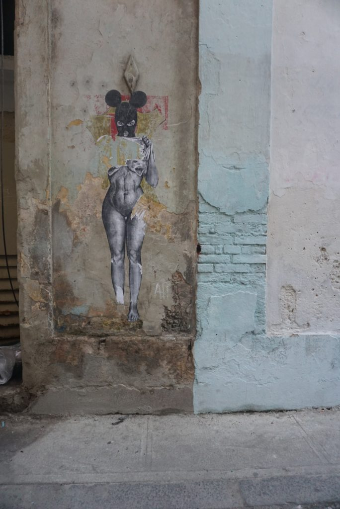 Graffiti in Old Havana